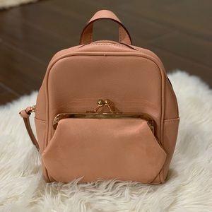 Lauren Conrad Blush Mini Backpack Purse